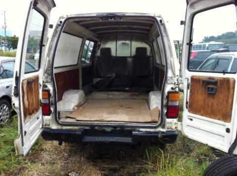 NISSAN caravan TD27 diesel