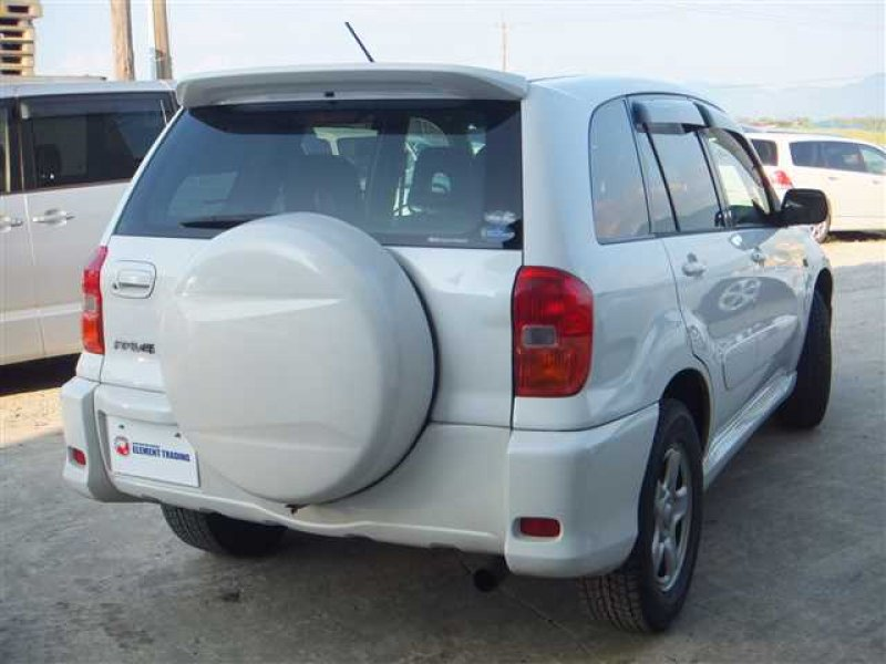 Toyota Rav4 Aca21 >> TOYOTA RAV4 J 2001 / Japanese Used Car Exporter / Element Trading