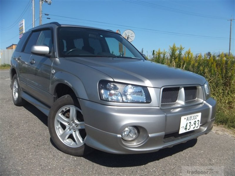 SUBARU Forester 2004 / Japanese Used Car Exporter ...